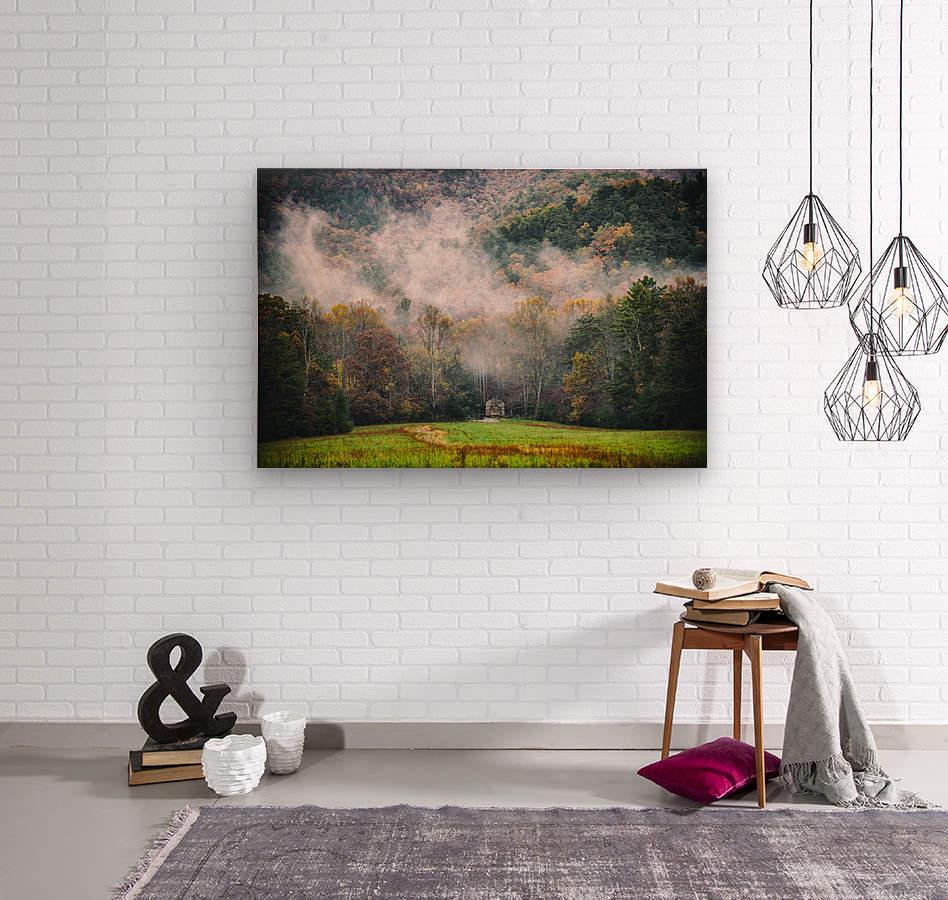 Smokey Mountain   Wood print