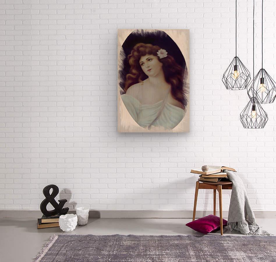 Titian Beauty  Impression sur bois