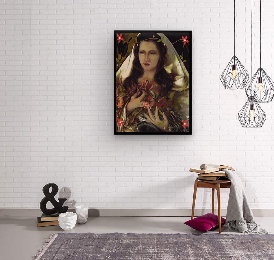 Madonna 12  Wood print