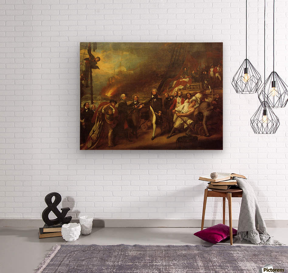 The Victory of Lord Duncan  Wood print