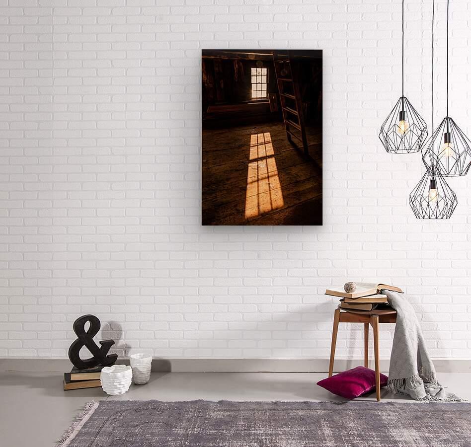 Shaefe Warehouse Loft  Wood print