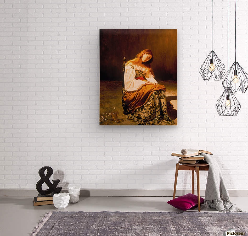 Tilda Swinton  Wood print