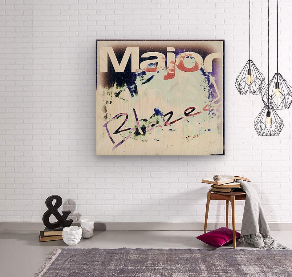 MajorBlazed SnowCO  Wood print