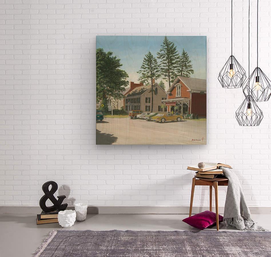 The General Store - Newtown Scenes 16X16  Wood print