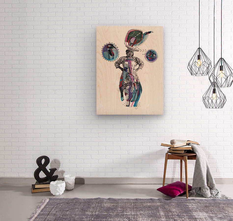 Herero Woman 3  Wood print