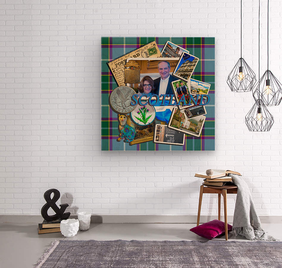 Scotland 2016  Wood print