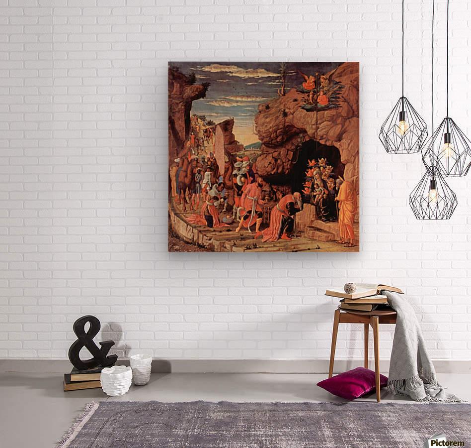 Adoration of the Magi  Wood print
