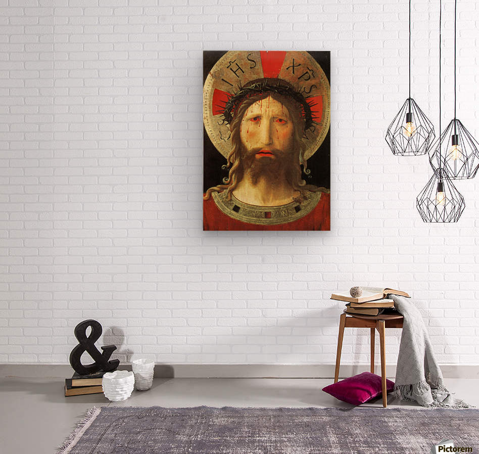 The Color of Christ Passion  Wood print
