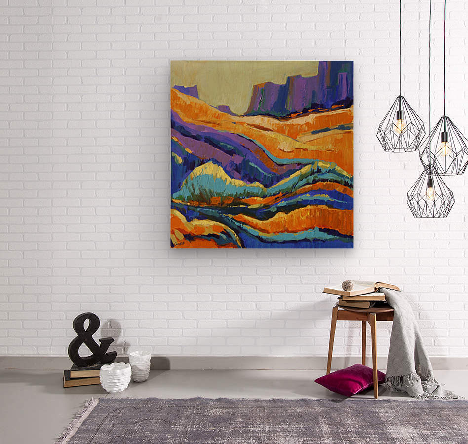 The Grand Canyon_8 18x18  Wood print
