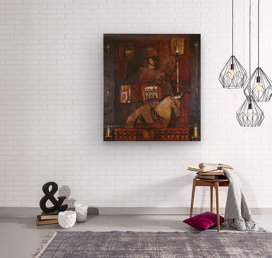 Fantasia 1  Wood print