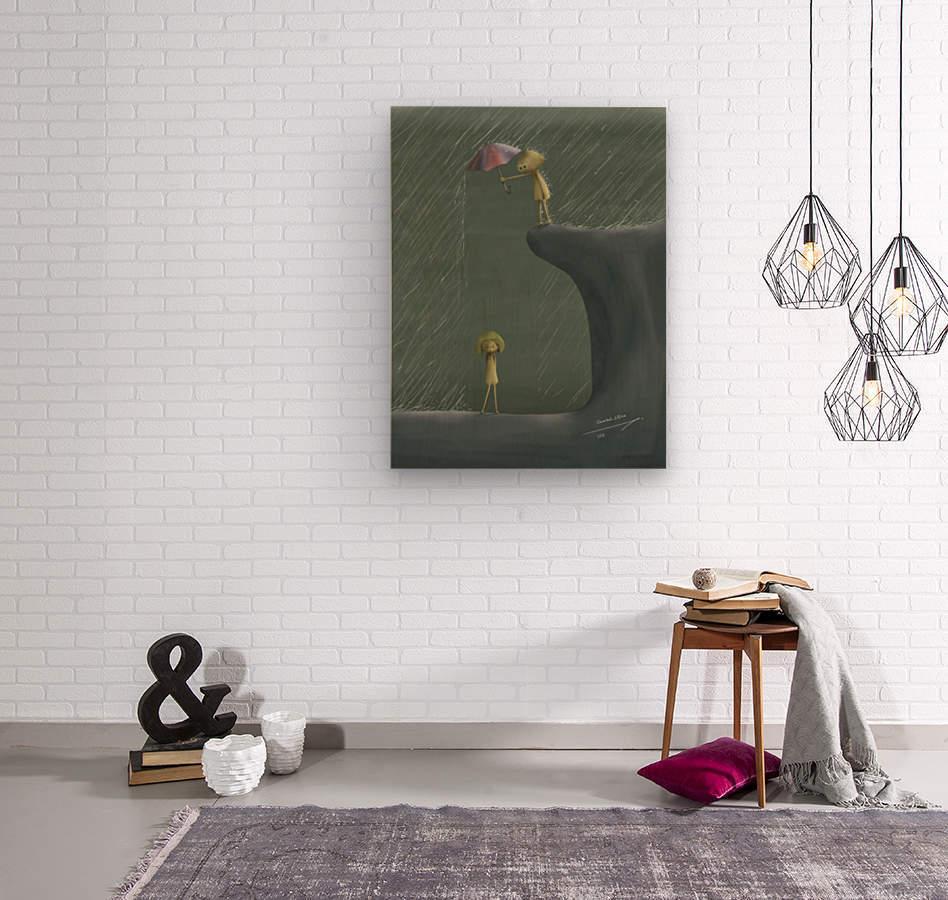 Charbel Elia  Wood print