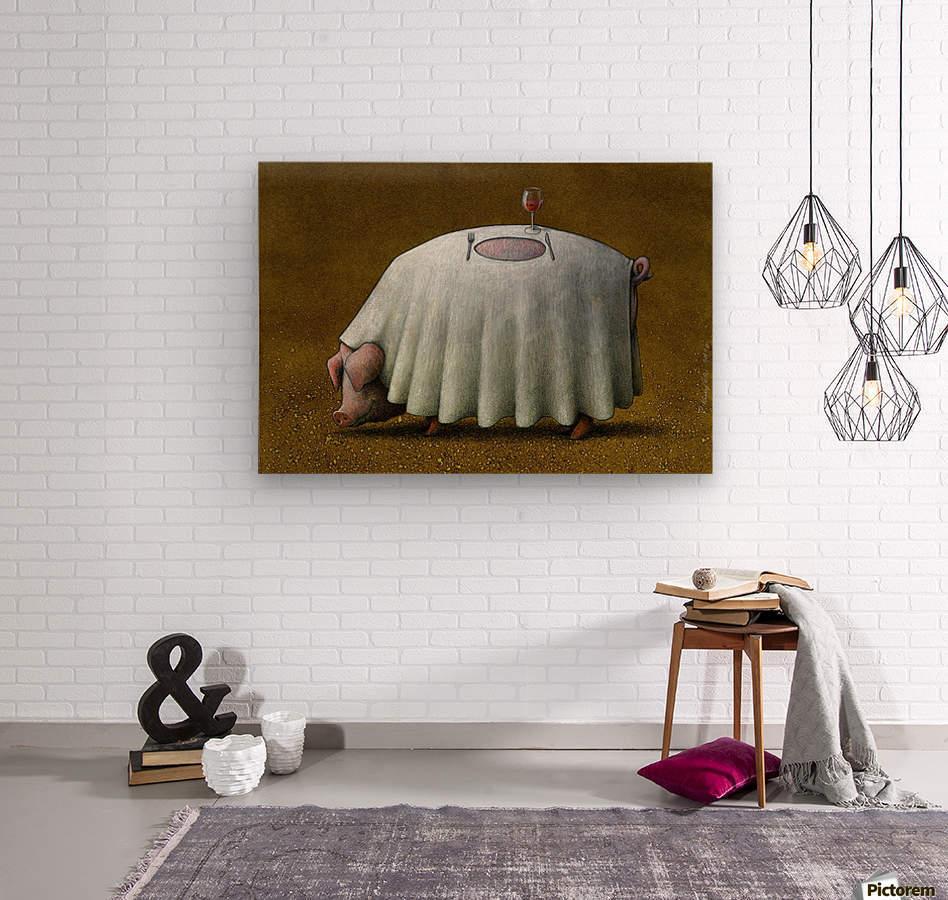 PawelKuczynski60  Wood print