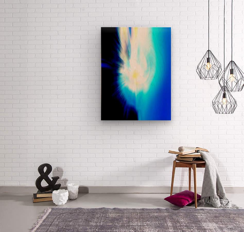 Filtered Sun  Wood print