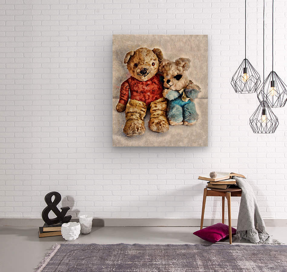 Give Me A Bear Hug  Wood print