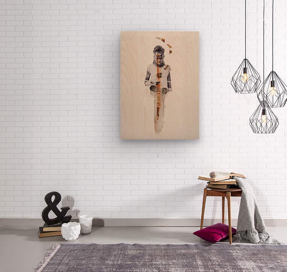 amazing grace1  Wood print