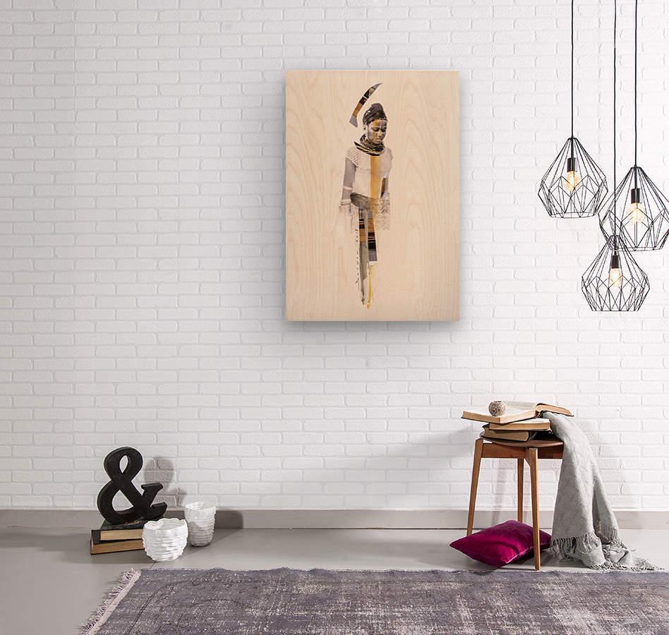 amazing grace6  Wood print
