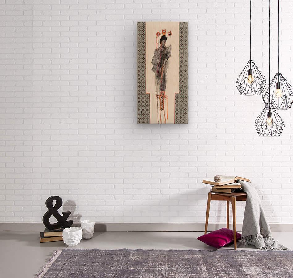emerveillement6  Wood print