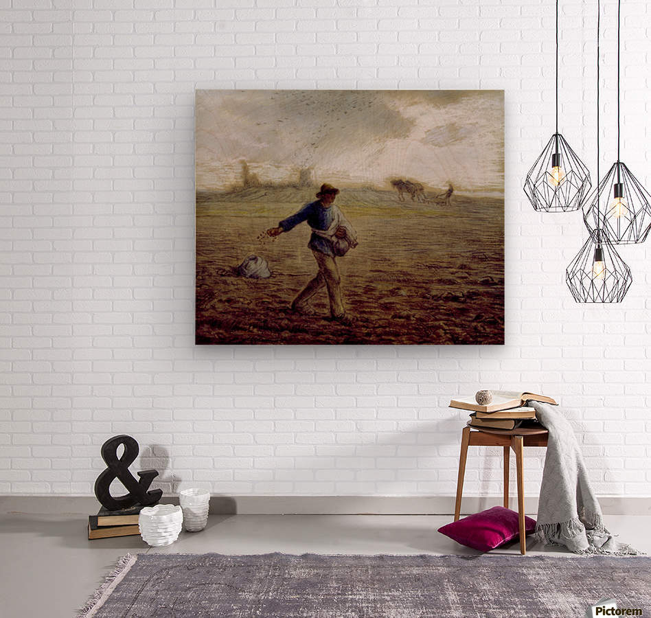 The Sower - Walters  Wood print