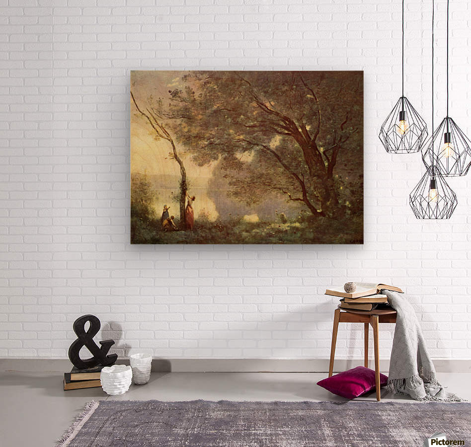 Camille Corot  Wood print