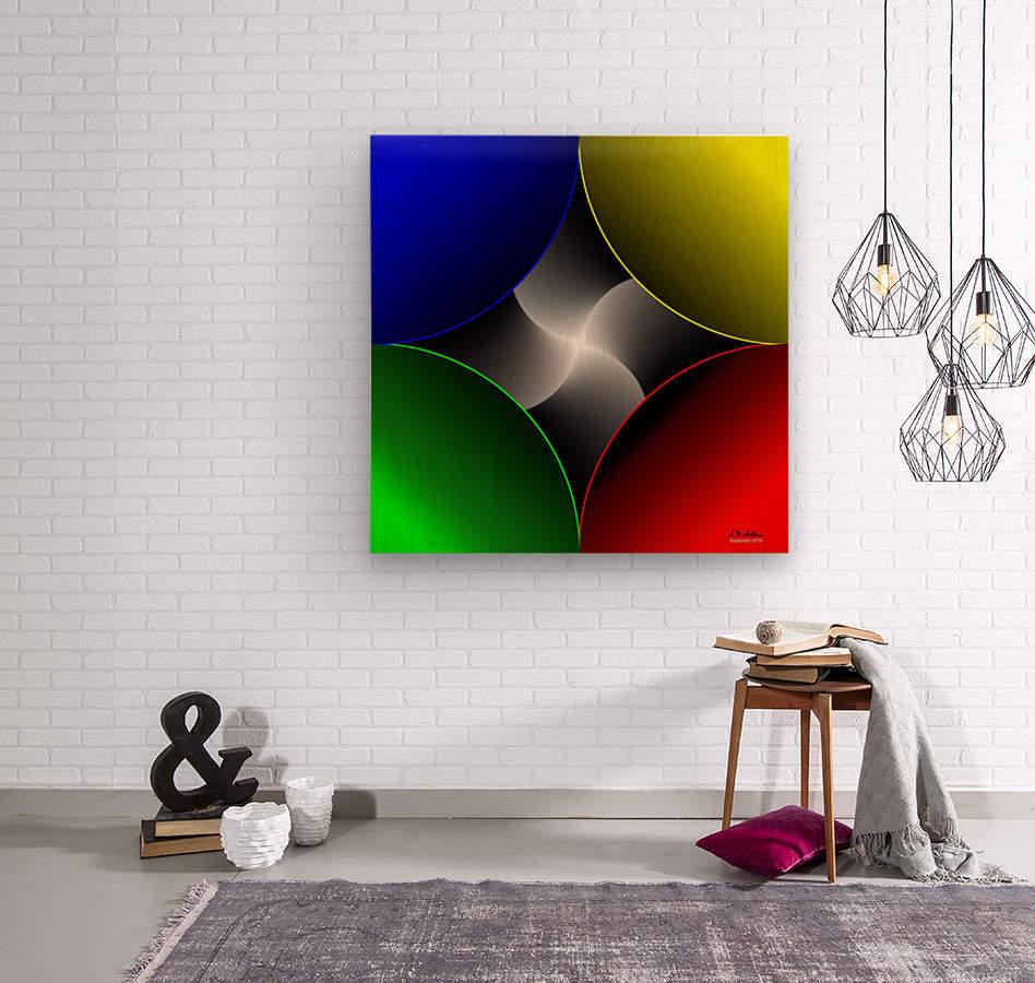 1-Colors Idea 2  Wood print