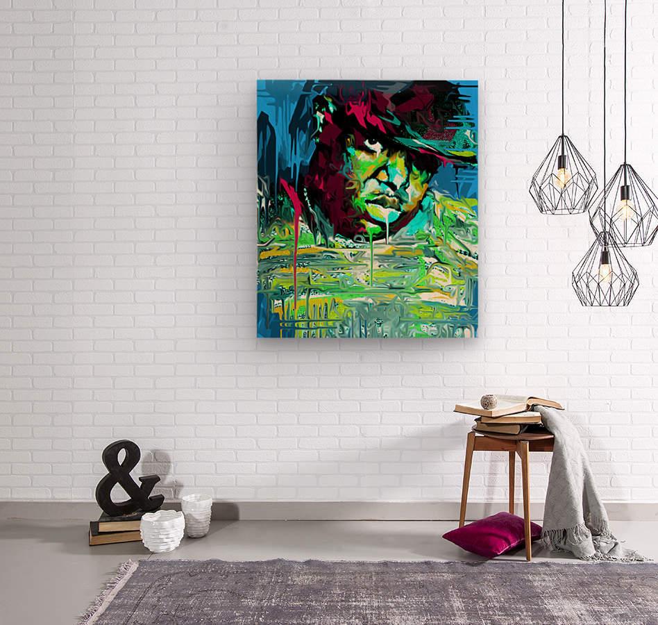 big3  Wood print