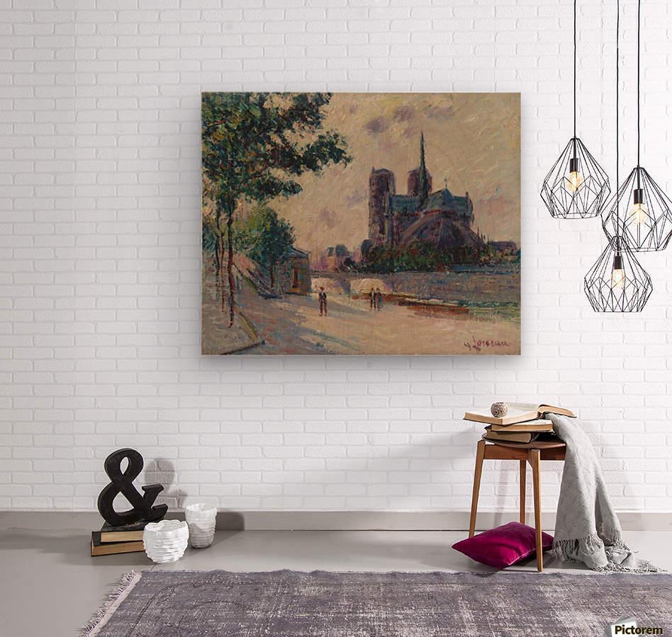 Notre-Dame de Paris  Wood print