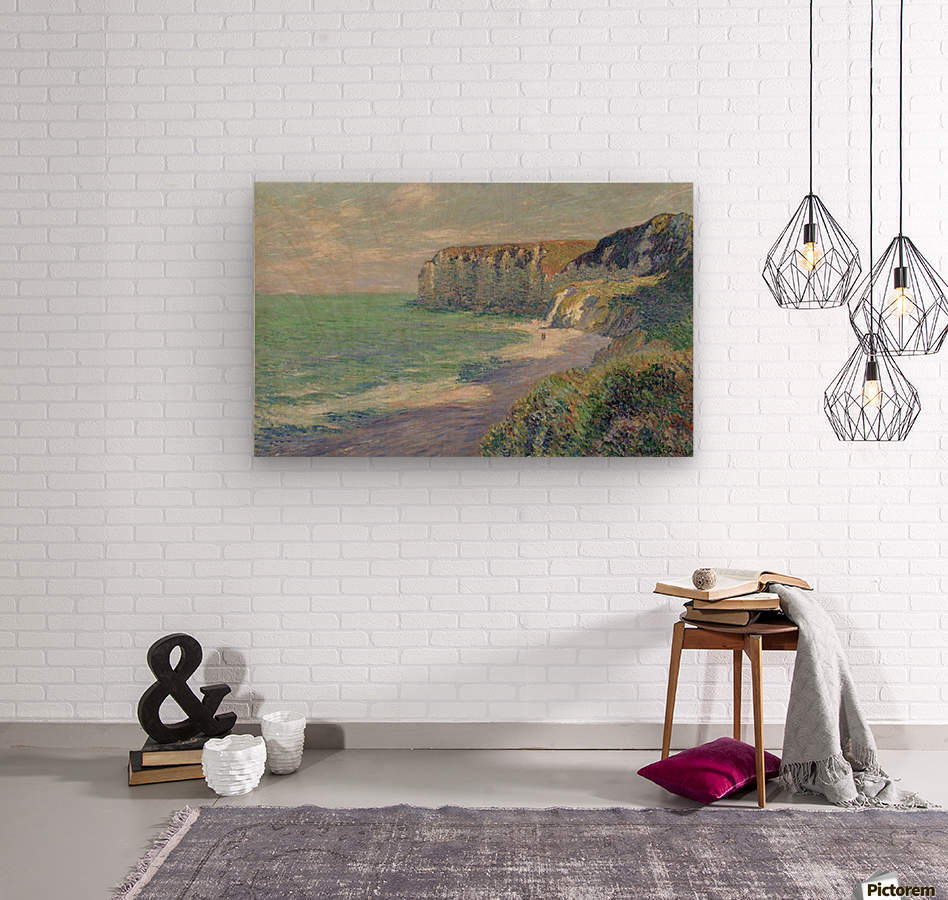 The Cliffs of Saint-Jouin  Wood print