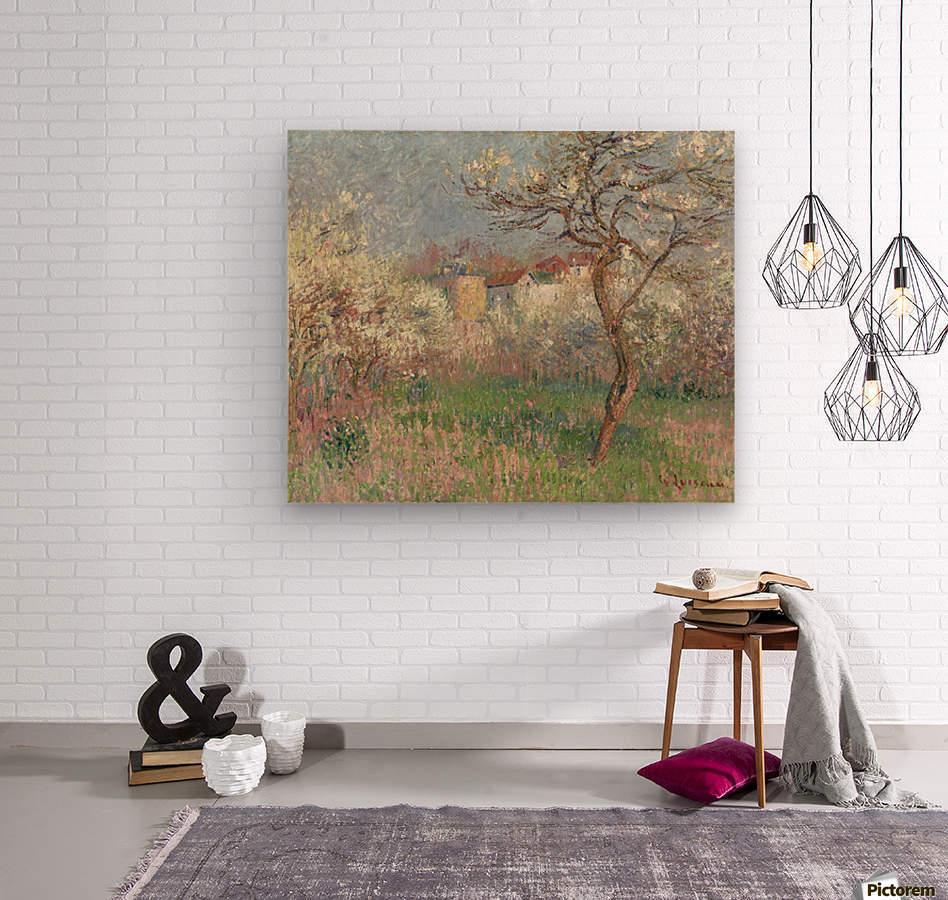 Spring, Outskirts of Pontoise  Wood print