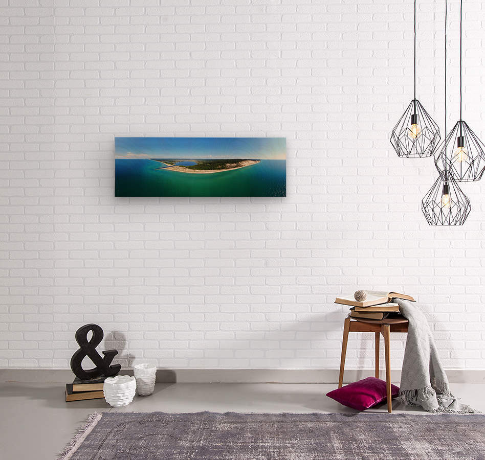 Arcadia Pano  Wood print