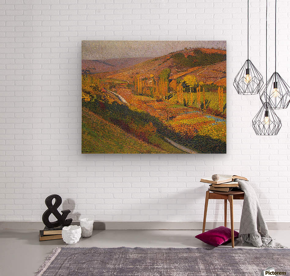 Labastide-du-Vert, Valley of Lot  Wood print