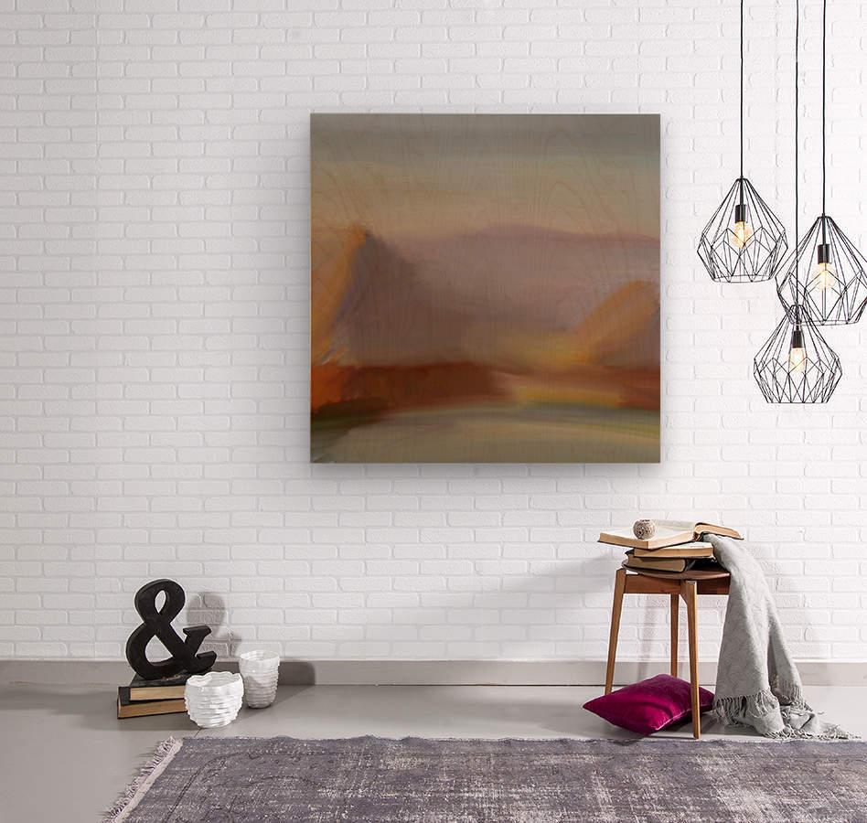 Monet I spiration  Wood print