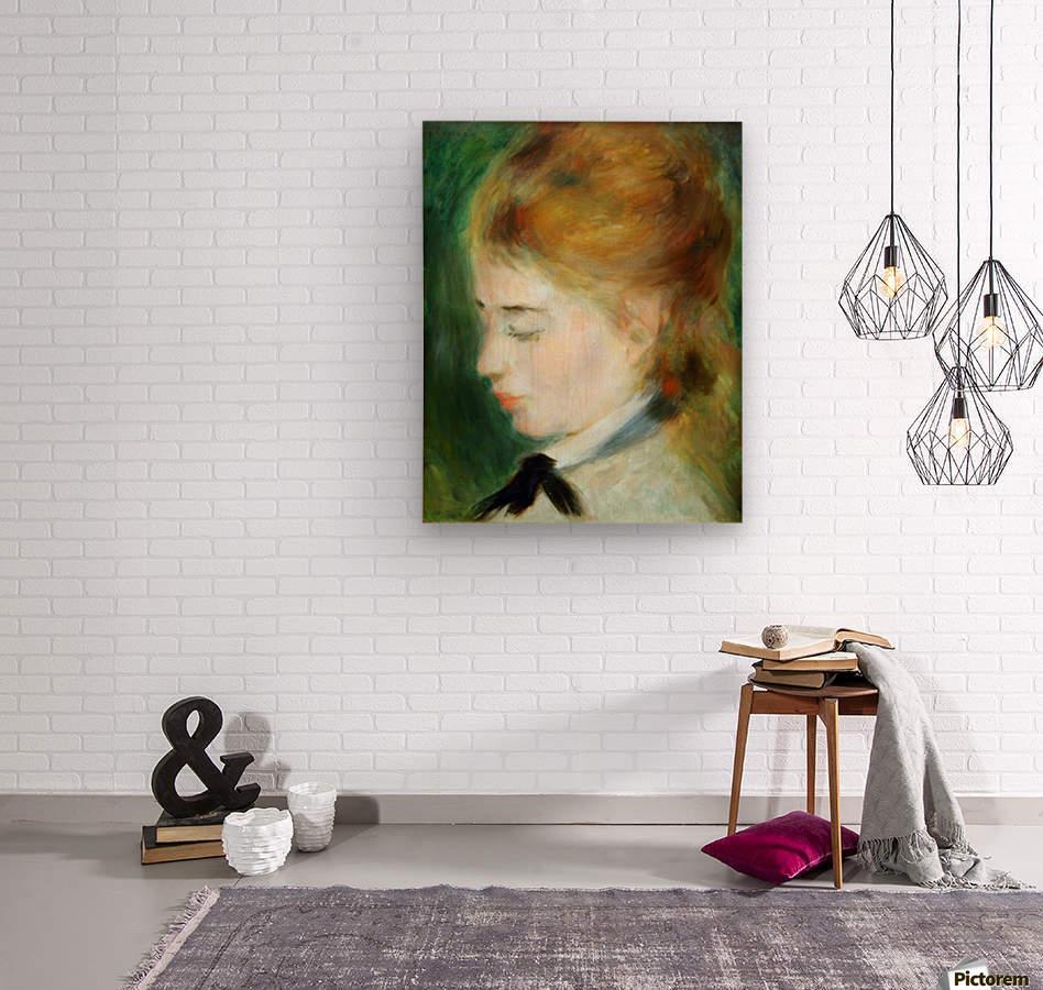 Actress Henriette Henriot  Wood print