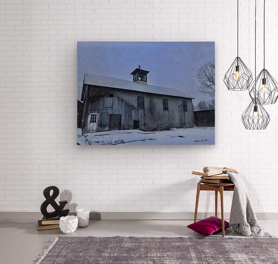 Avon Barn  Wood print