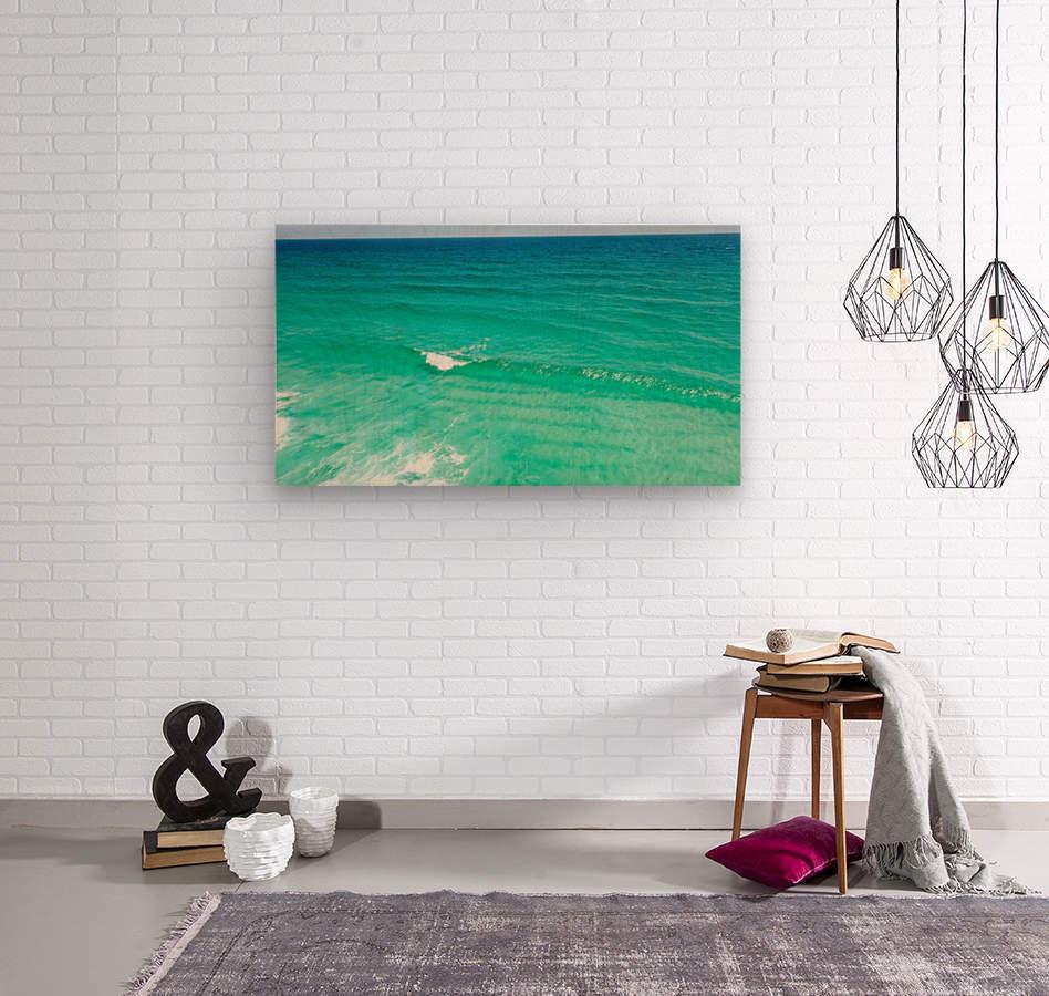 Clear Surf   Wood print
