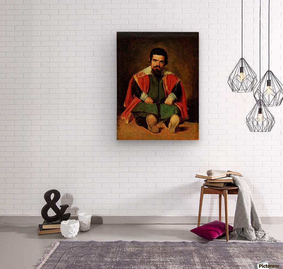 Don Sebastian de Morra  Wood print