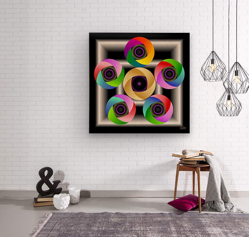 1-Ring Around the Rosie  Wood print