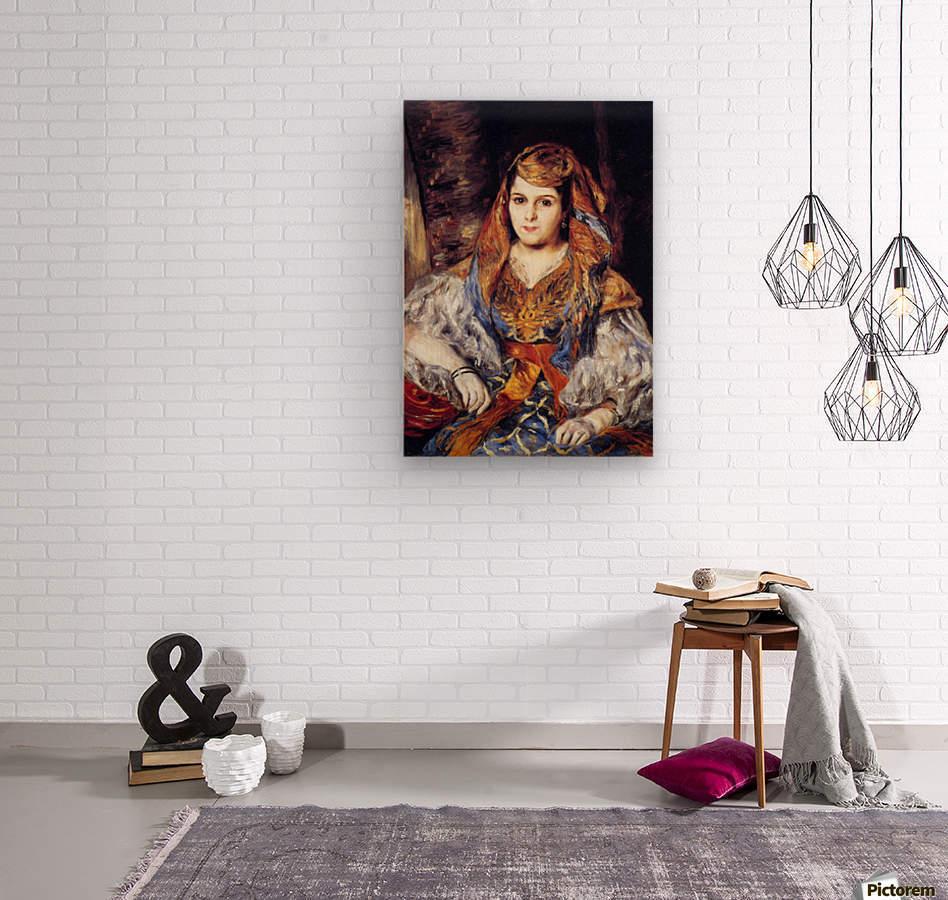 Algerian Woman by Renoir  Wood print