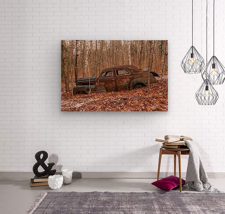 Chevrolet Fleetline 4  Wood print