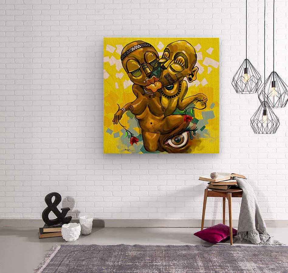 PARABLE LOVE  Wood print