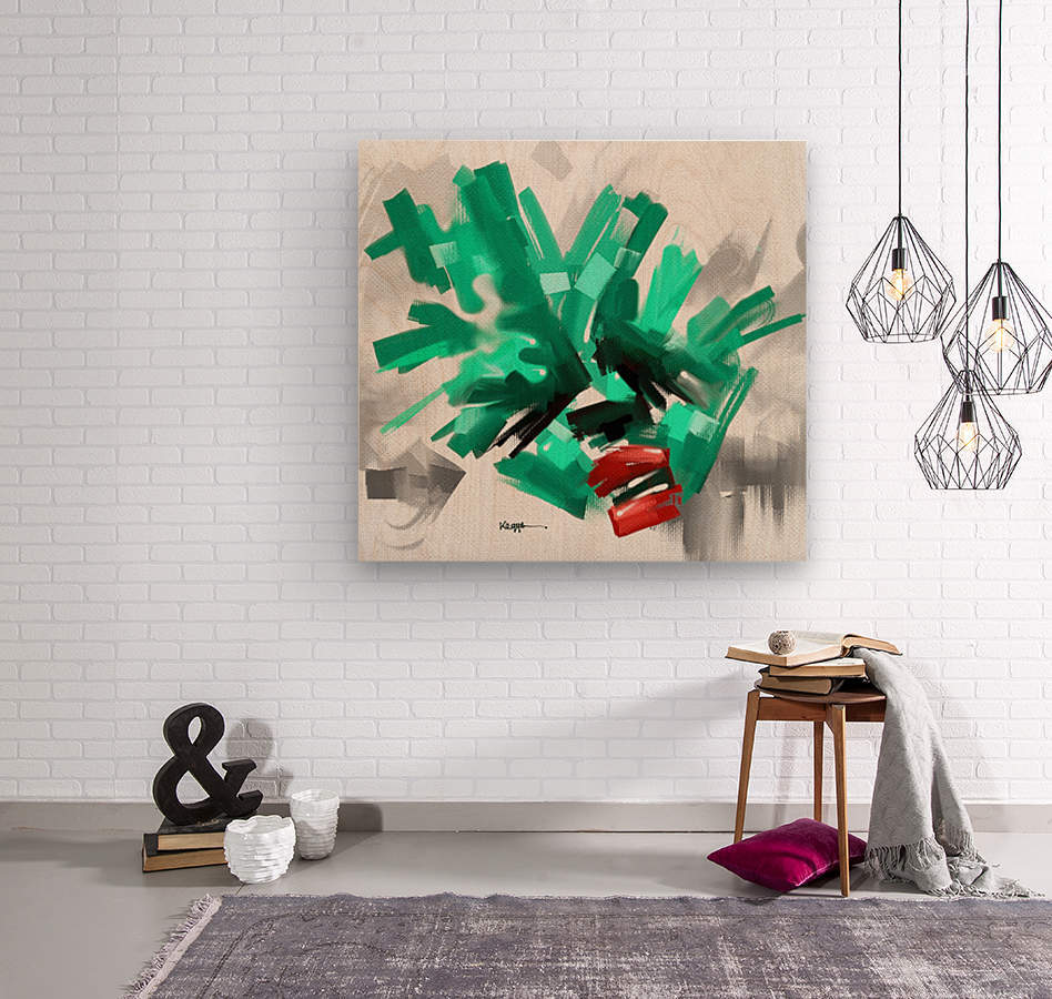 ZXVBC  Wood print