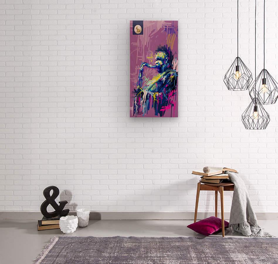 Untitled 6  Wood print