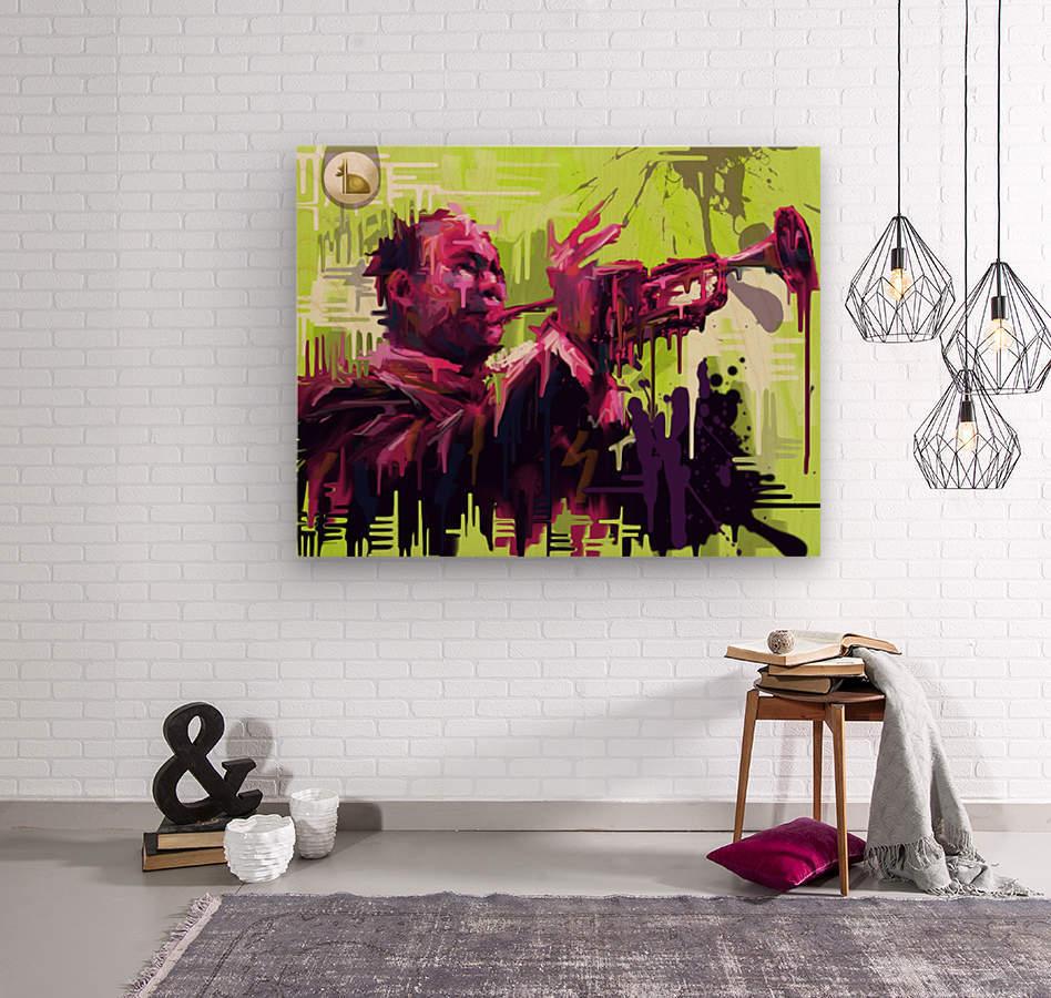 Untitled 2  Wood print