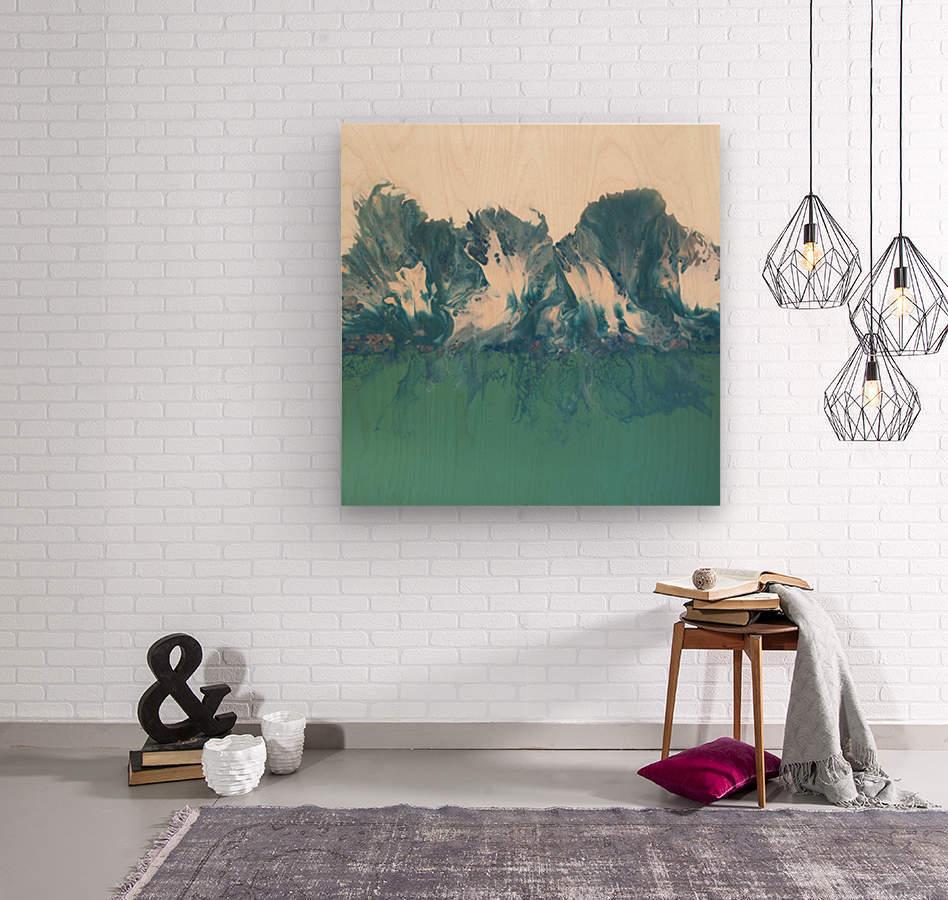 Kissimmee  Wood print