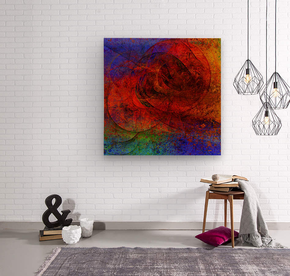 Solariz  by Jean-François Dupuis   Wood print