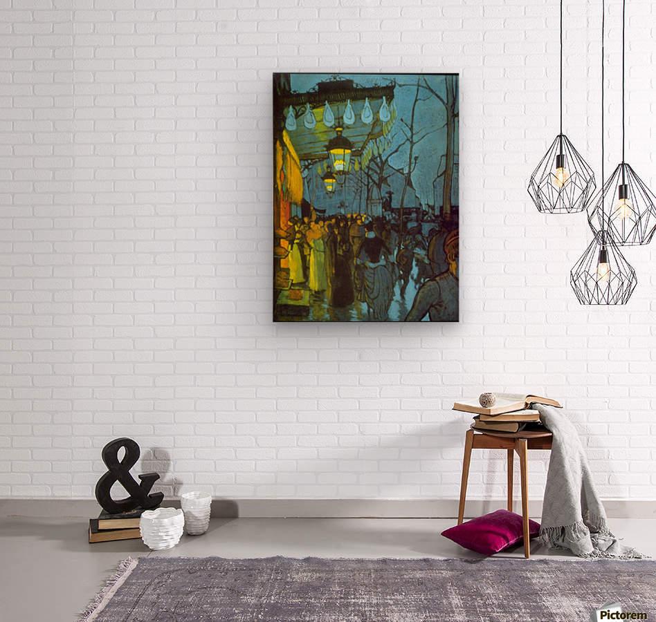 Avenue De Clichy by Anquetin  Wood print