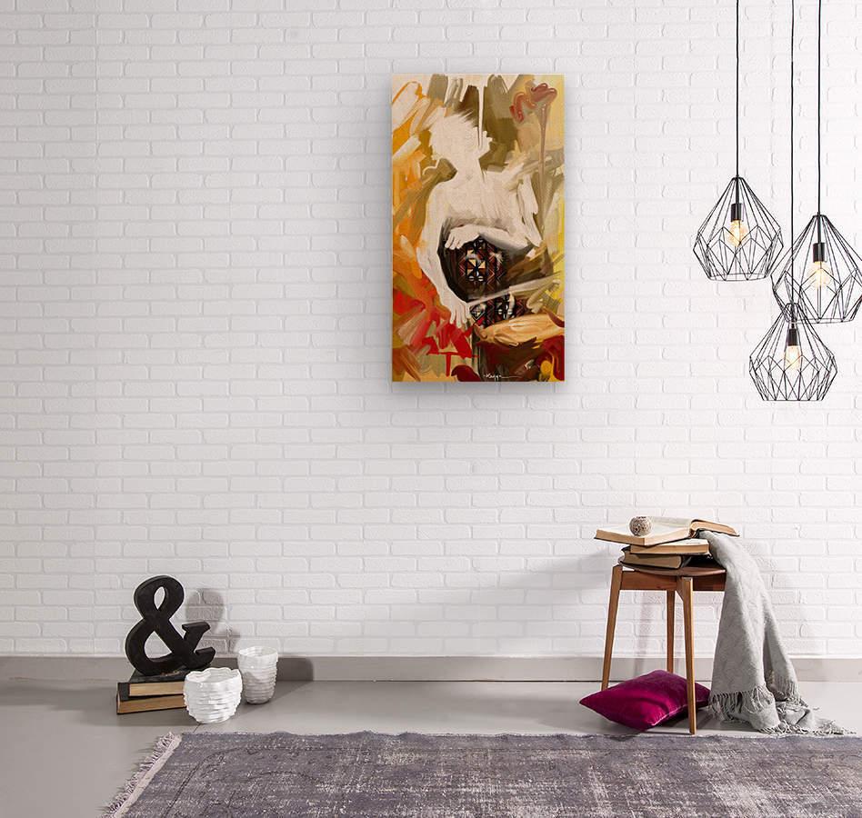 KATARI  Wood print