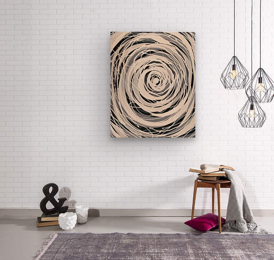 Delightful Madness   Wood print