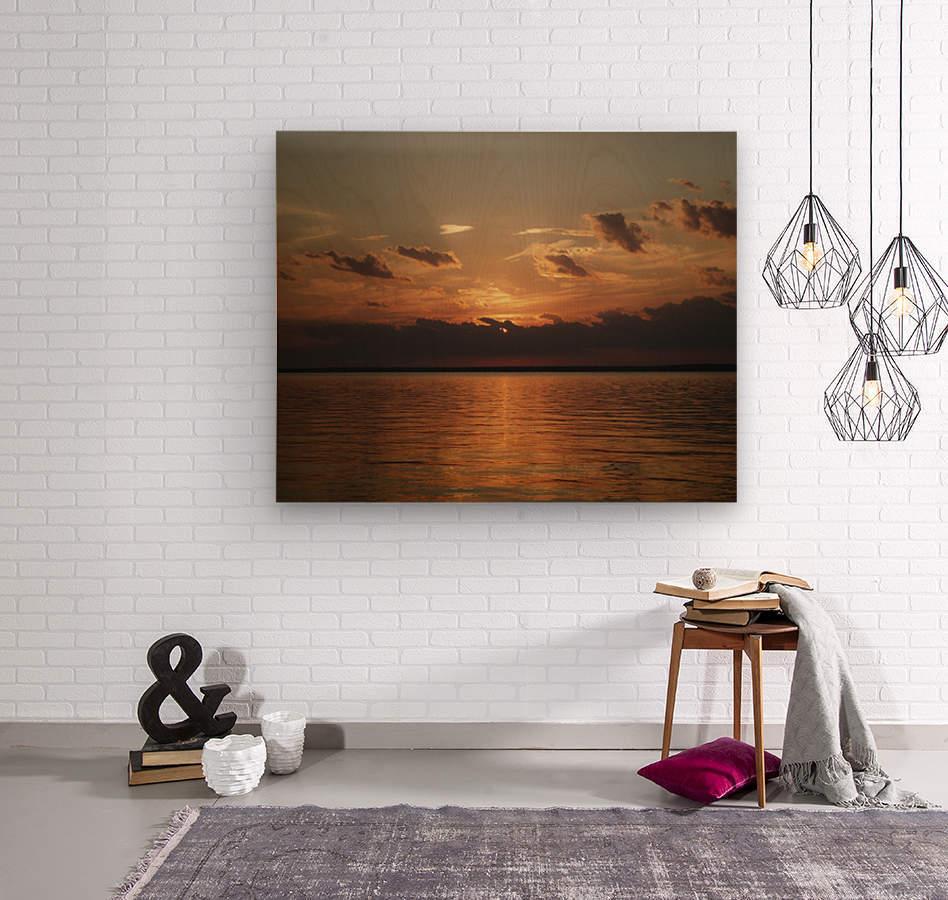 Georgian Sunrise  Wood print