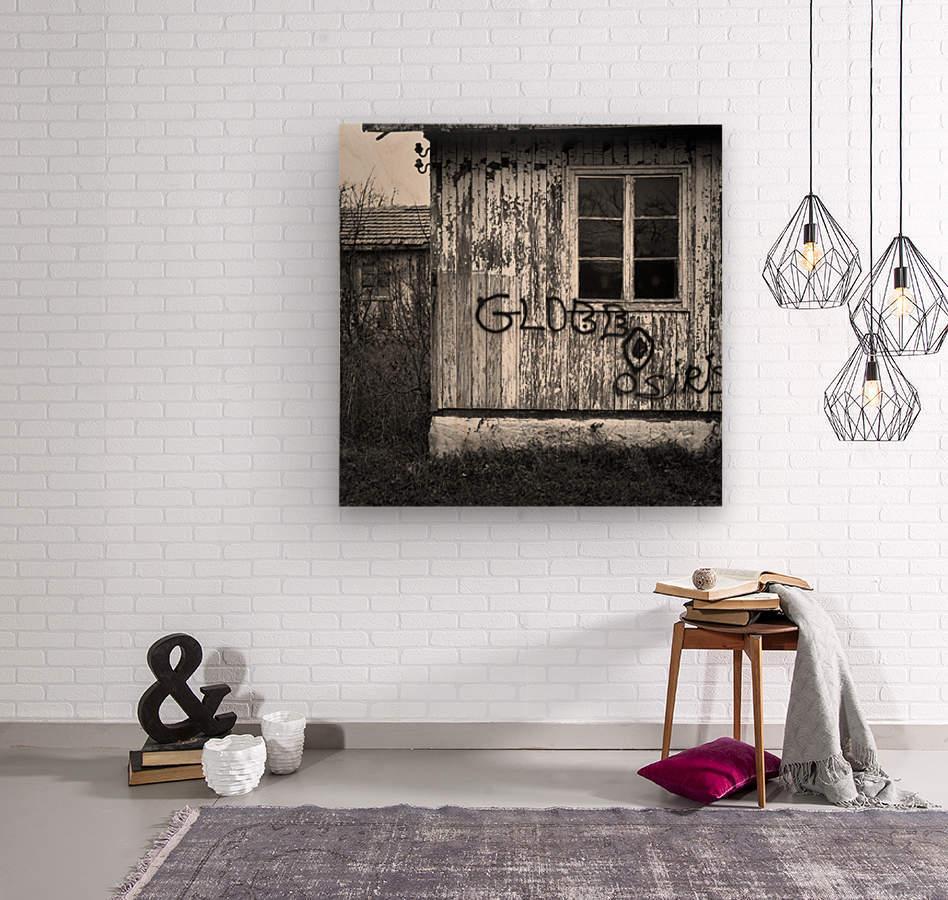Bunagalow  Wood print