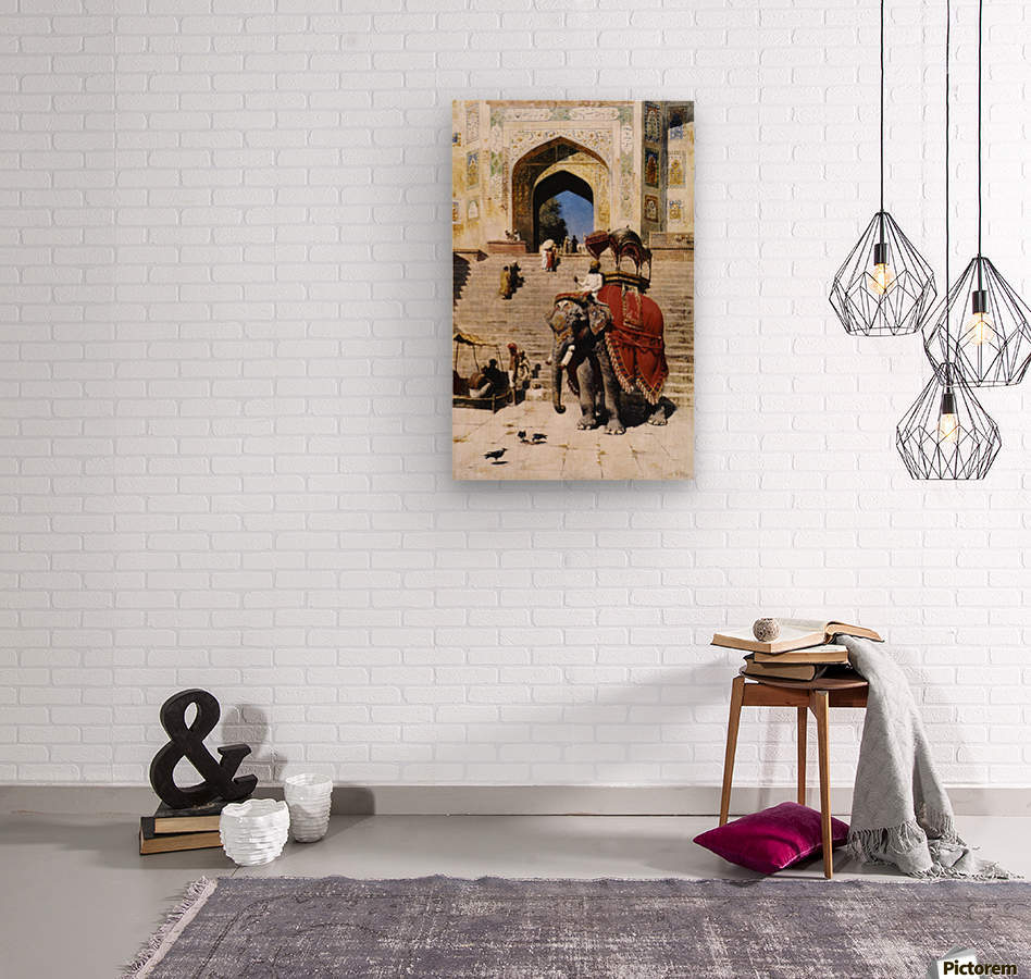 Royal Elephant  Wood print